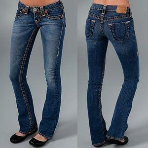 True Religion Bobby Super T Medium Wash Flare Jean
